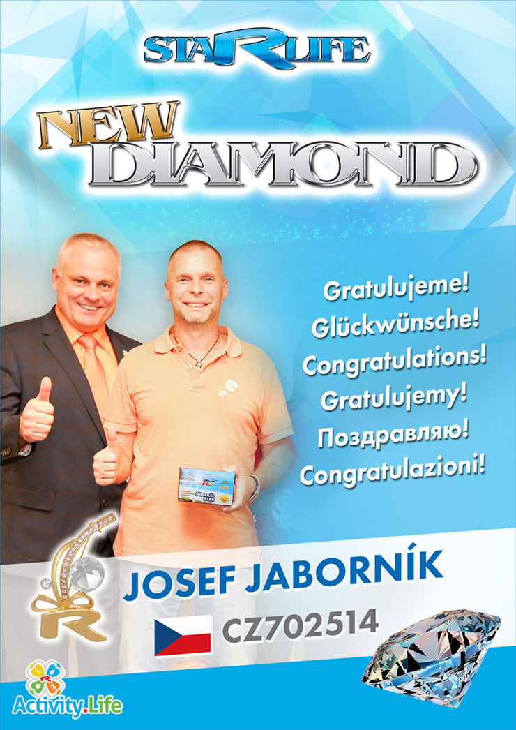 NEW DIAMOND: Josef JABORNÍK