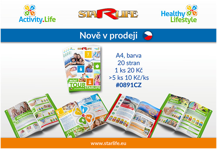 Mini Tour po produktech STARLIFE