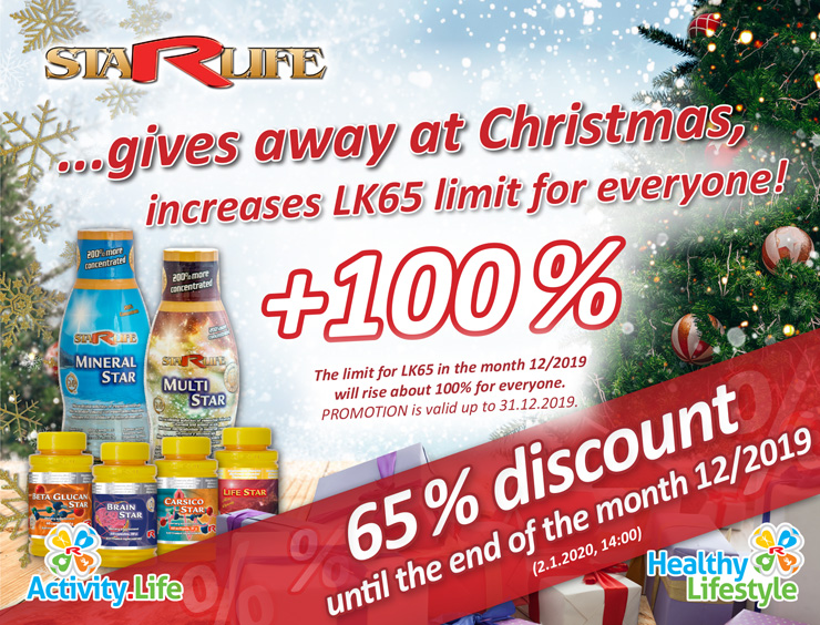 Limit LK65 +100 % valid until the end of 12/2019!