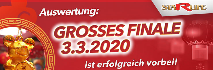 GROSSES FINALE - Auswertung