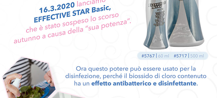 Lanciamo EFFECTIVE STAR Basic