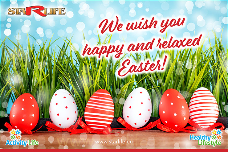 We wish you happy and relaxed Easter