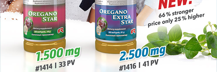 New OREGANO EXTRA STAR in our portfolio!