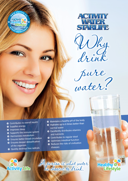 Enlarge picture Flyer AWS Why drink pure water?, A4