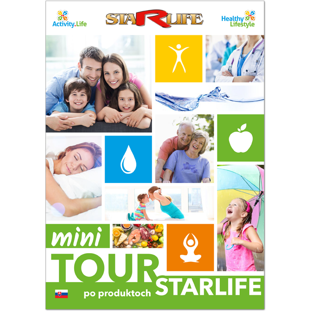 Enlarge picture Mini Tour po produktoch STARLIFE SK, A4