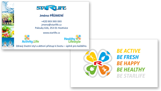 Enlarge picture Business cards STARLIFE, 2-sided laminated 100 pcs