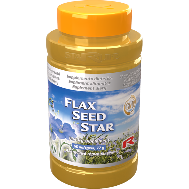 Enlarge pictureFLAX SEED STAR