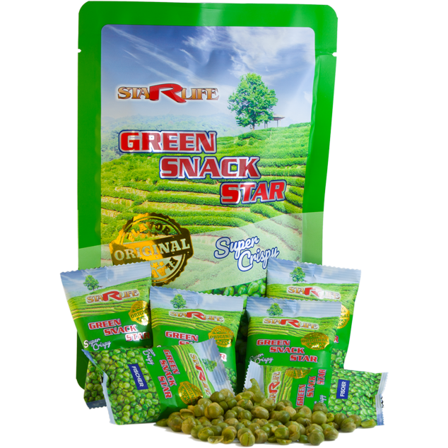 Ingrandire le immagini GREEN SNACK STAR