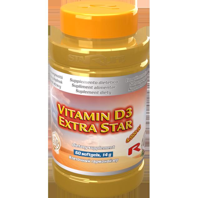 Zvětšit obrázekVITAMIN D3 EXTRA STAR