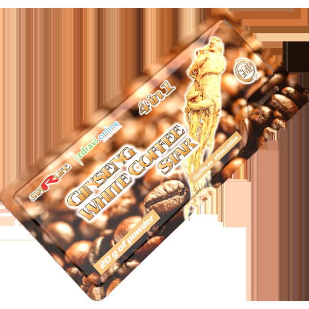 Enlarge pictureGINSENG WHITE COFFEE STAR