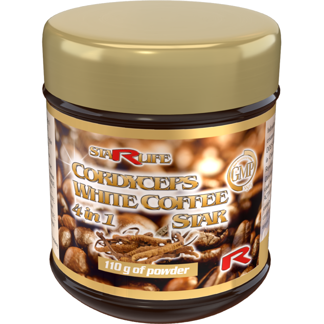 Enlarge pictureCORDYCEPS WHITE COFFEE STAR