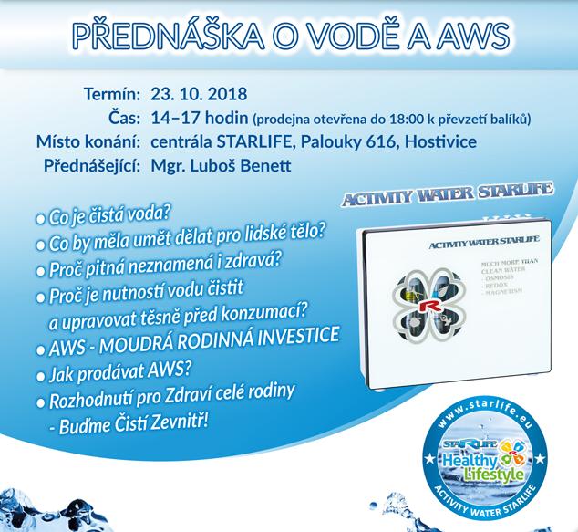 Zvětšit obrázekPřednáška o vodě a AWS 23.10.2018
