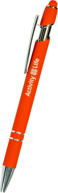 Enlarge picture Ballpen STARLIFE, orange