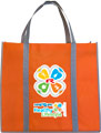 Shopping bag - orange