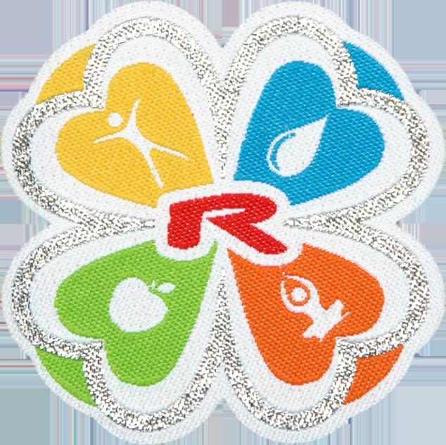 Ampliar imagenNažehlovací logo ČTYŘLÍSTEK 55mm