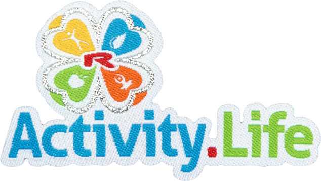 Enlarge pictureNažehlovací logo Activity.Life 55mm