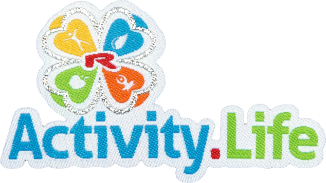 Enlarge pictureNažehlovací logo Activity.Life 75mm