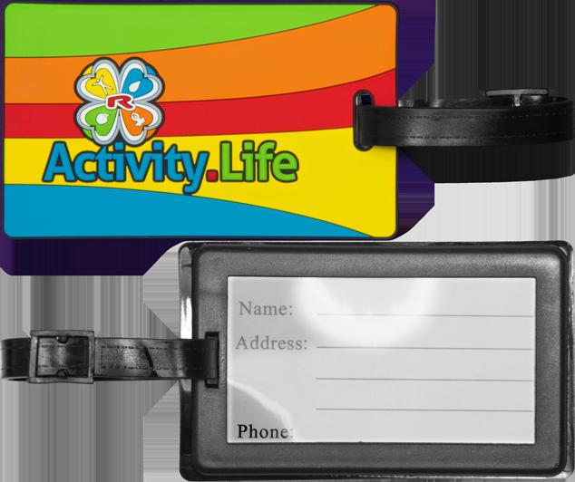 Enlarge pictureJmenovka na zavazadlo soft PVC 3D 108×65 mm