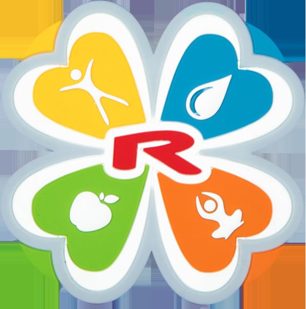 Enlarge pictureMagnetické logo 3D ČTYŘLÍSTEK 55 mm