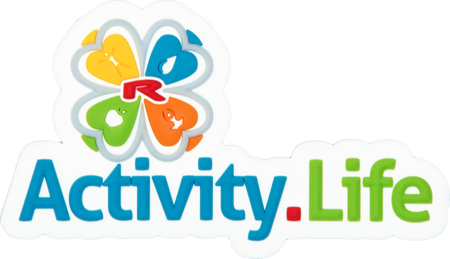 Enlarge picture Magnetické logo 3D Activity.Life 80×46 mm