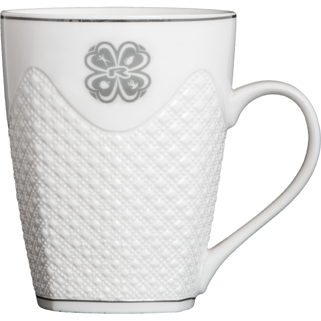 Увеличи изображението CUP, 450 ml, WHITE CERAMIC