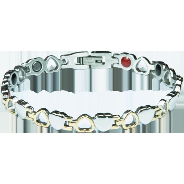 Увеличи изображението Bracelet BARBARA silver + gold