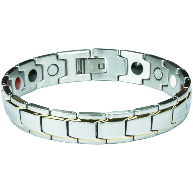 Enlarge picture Bracelet BONNIE silver + gold