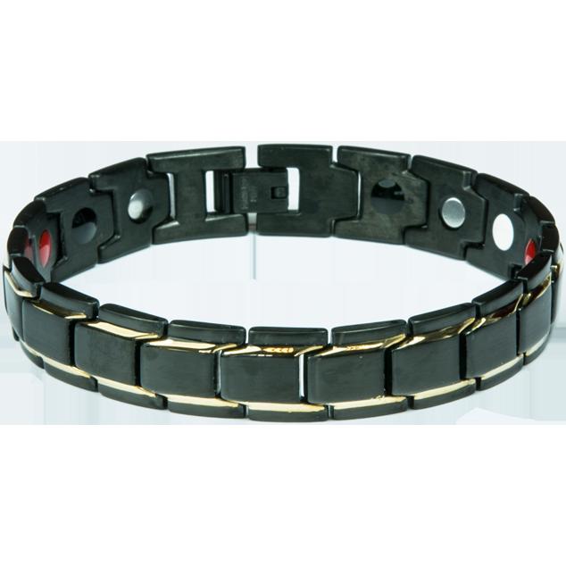 Увеличи изображението Bracelet BONNIE black + gold