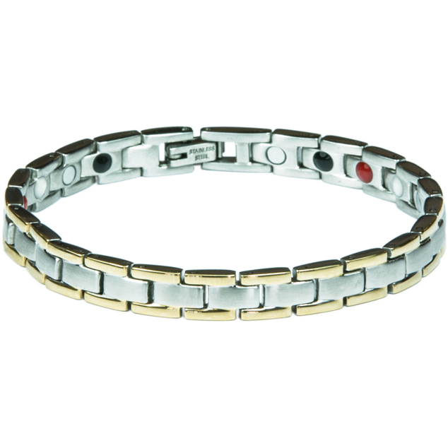 Enlarge picture Bracelet COLEEN gold + silver