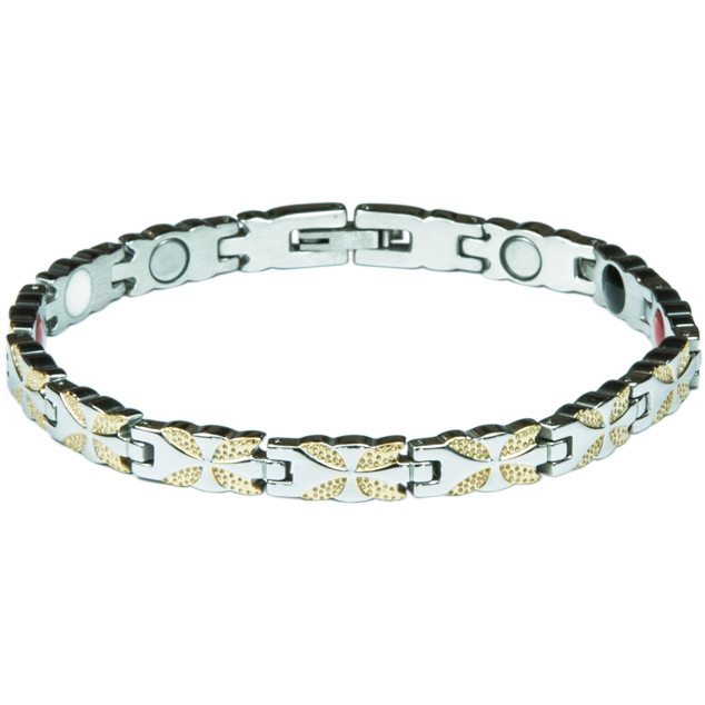 Enlarge picture Bracelet LIZZY silver + gold