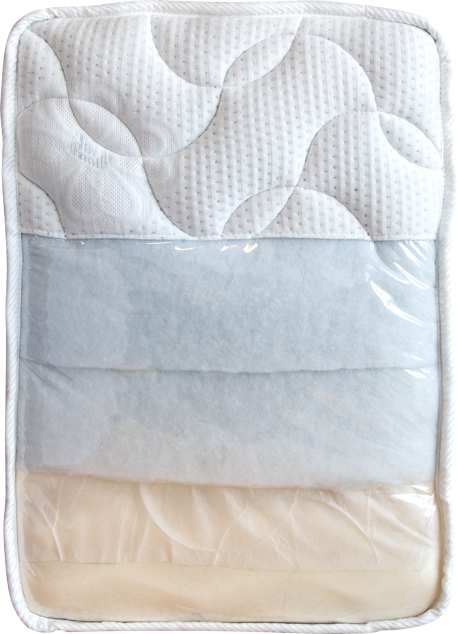 Enlarge picture Mattress LUXUS sample, 40 × 60 cm, v. 25 cm