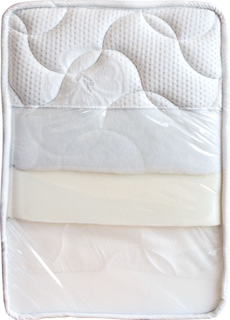 Enlarge picture Mattress STANDARD sample, 40 × 60, v. 19-20 cm