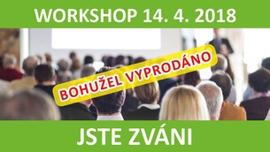 WORKSHOP 14. 4. 2018