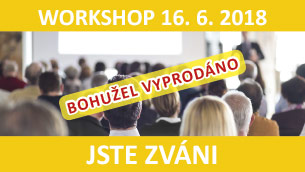 WORKSHOP 16. 6. 2018